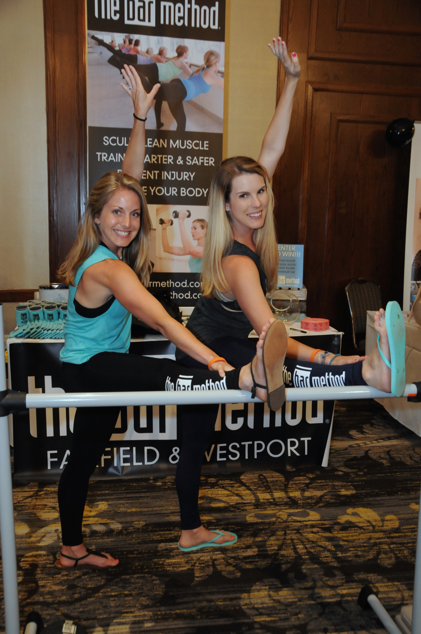 Meaghan Gay, Caitlin Giambalvo - The Bar Method<br><em>Photograph: Bob Capazzo</em>