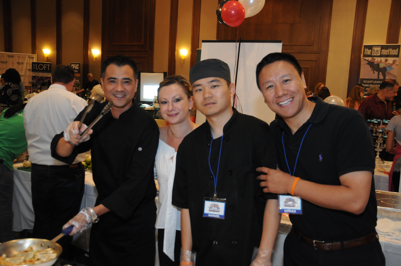 Andy Tam, Mike So, Iwona Kutkowska, Ack Check - Tendga<br><em>Photograph: Bob Capazzo</em>