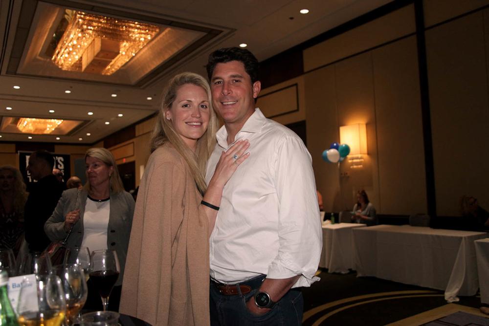 Claire and Steve Garnett