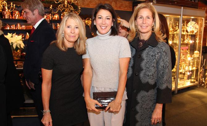 Pam Caffray, Brooke Ashforth and Tamara Holliday