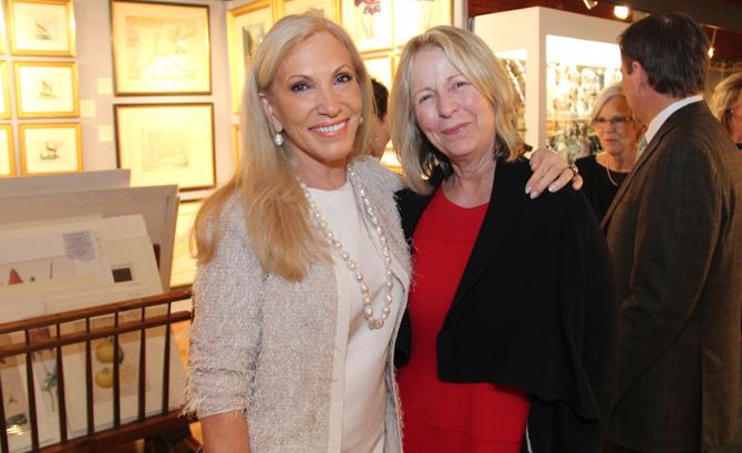 Alease Fisher Tallman and Martha Jeffrey