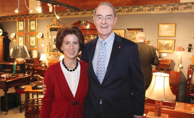Cynthia Blumenthal and Peter Malkin