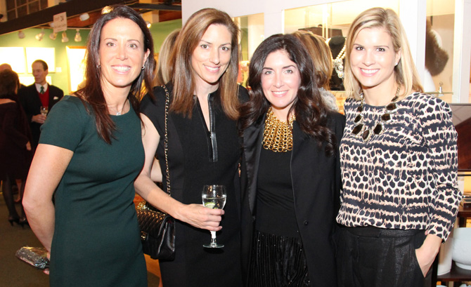 Carrie Emery, Alisa Brockelman, Zoe Khayatt and Holly Cassin