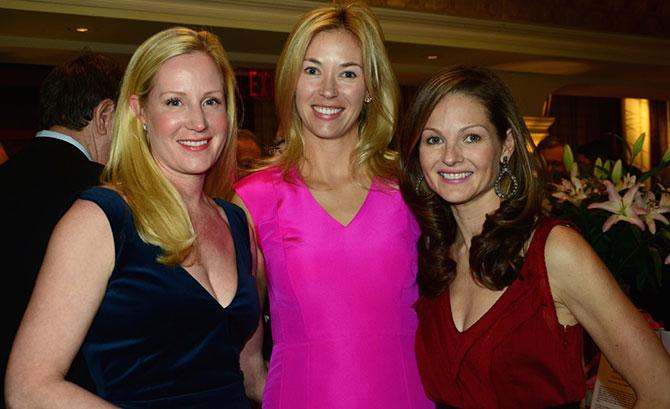 Colleen de Veer, Elizabeth Lake and Abby Ritman