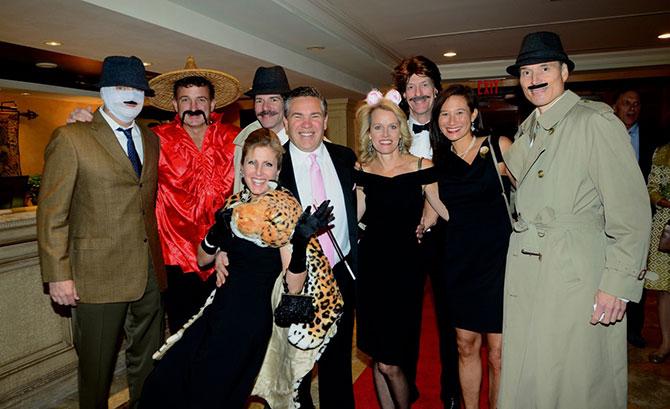 Chris Clark, Steve Paletta, Douglas Graneto, Wear Culvahouse, Christine Paletta, David Kelley with Jim and Ginge Cabrera