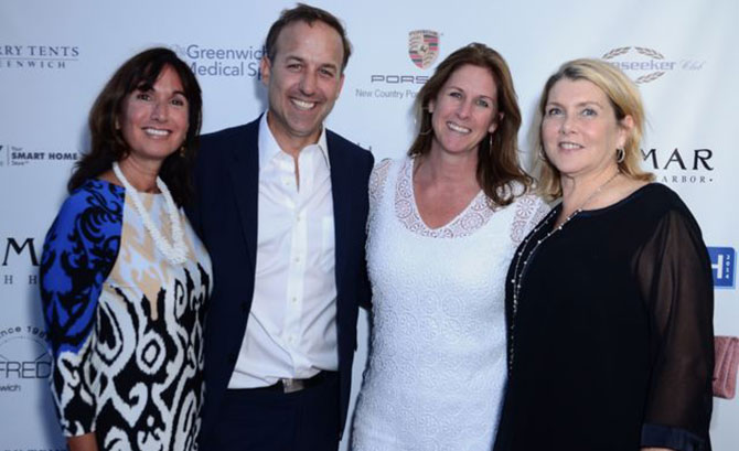Lauren Muse, David Haffenreffer, Ellen Mosher, and Leslie Carlotti