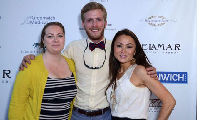 Kelly Huettner, Zach Wilson, and Picca McDonough
