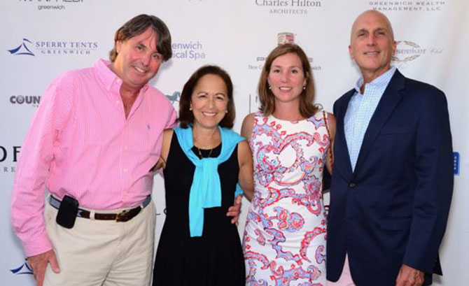 Scot Weicker, Lisa Weicker, Rachel Franco, and Chris Franco