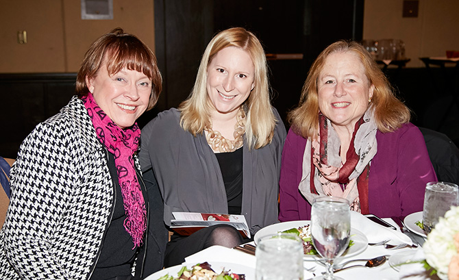 Nancy Grejtak, Meredith Hafer and Dede LeComte