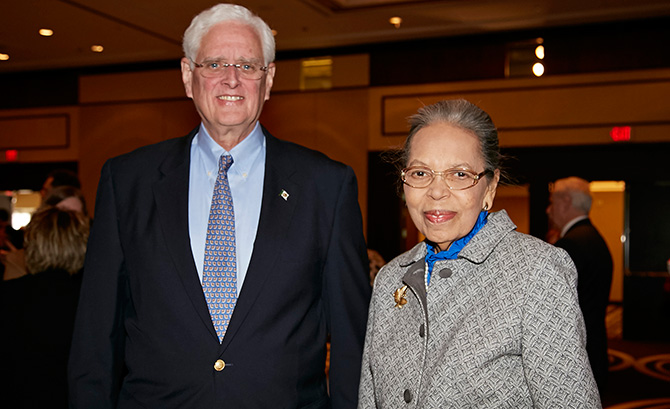 John Toner and Nancy Brown