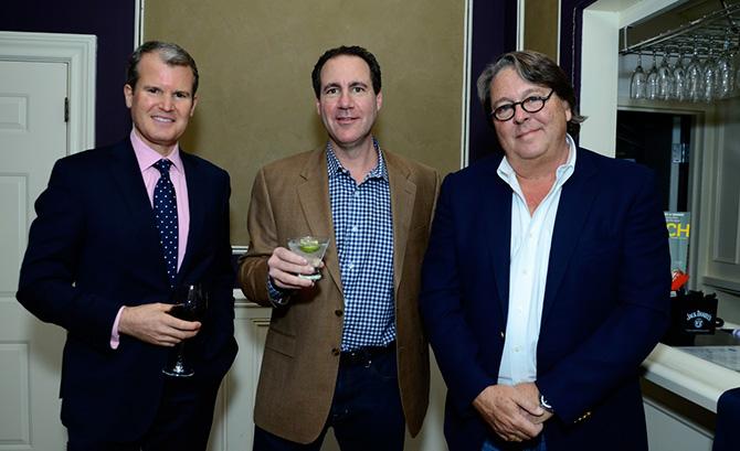 Steven Lerangis, Lance Root and Ron Gushue