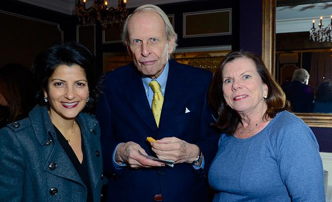 Aleasha Keleshian with Joel and Sheila Cameron