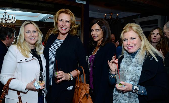Matine Panagoblos, Ruth Kukat, Julia Chiappetta and Trish Bauer