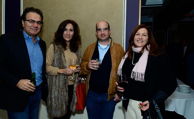 Nick & Liz Arpia, Art Risi and Barbara Zacagnini