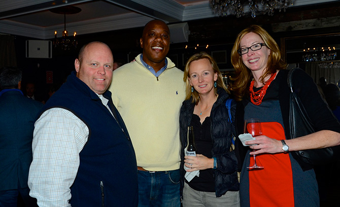 Mike Jevlicka, Michael Chambers, Ceclia Jevlicka and Patty Ryan