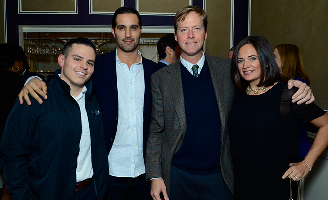 Kyle Bean, Dr. Adam Massoud, Vince Glenn and Jen Danzi