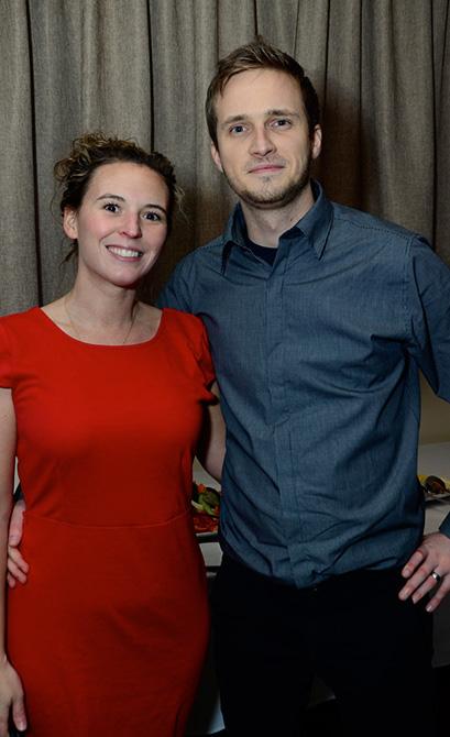 Thasha Mayberry and Pavel Mullyakaev