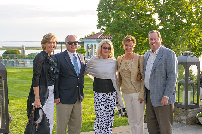 Lynn Mara, Jim Cunningham, Cathy Cunningham, Judy Hefferon and Michael Hefferon