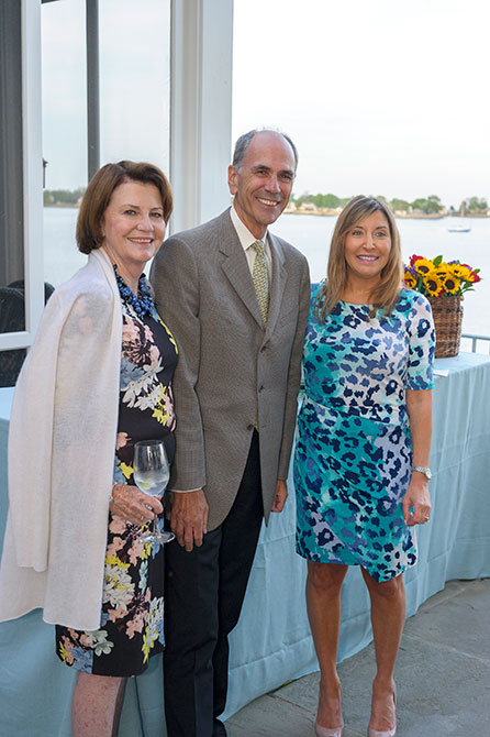 Barbara Ripp, Peter Ripp, and Jennifer Gressel