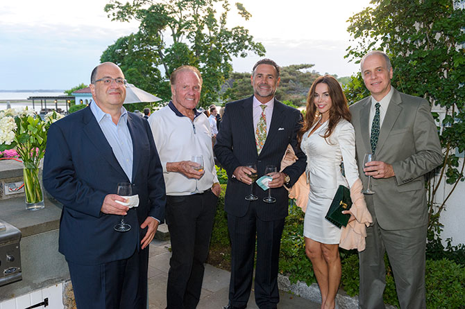 Daniel Gressel, Frank Gifford, Michael Grunberg, Julietta Lopez, and Joe Matesevic