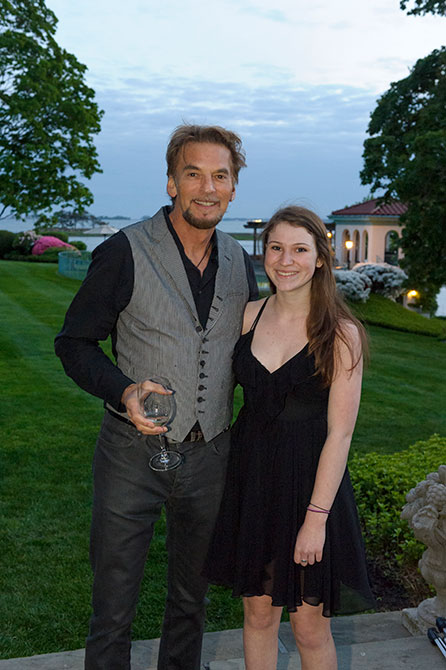 Kenny Loggins and Lizzy Marella