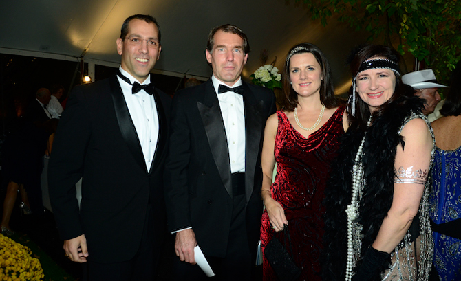 Matthew Besgen, Paul Steed, Ashling Besgen and Martina Steed