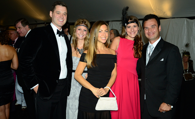 James Parker, Alli Tumino, Jennifer Finer, Stephanie Devita and Diego Orozco