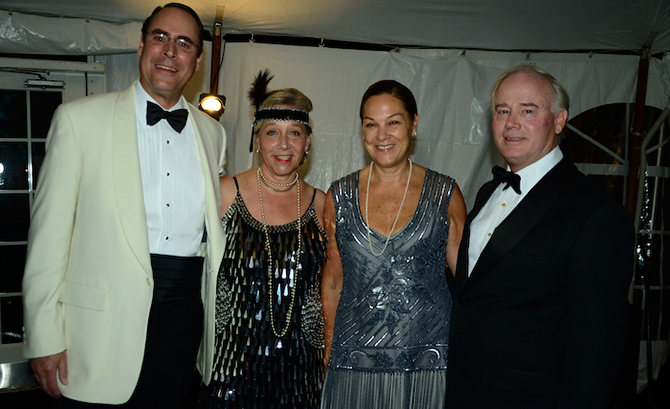Andy and Muffy Fox with Tim and Susan Schieffelin