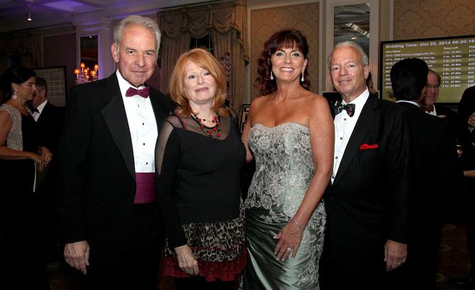 Dr. John and Sandy Crowe, Maura and Frank Corvino