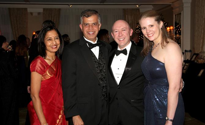 Dr. Shaila Narayana, Dr. Ashwatha Narayana, Dr. Brian Doran and Tami McCumons