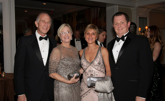 Dr. Spike and Lisa Lipschutz with Diana and Marty O'Mara