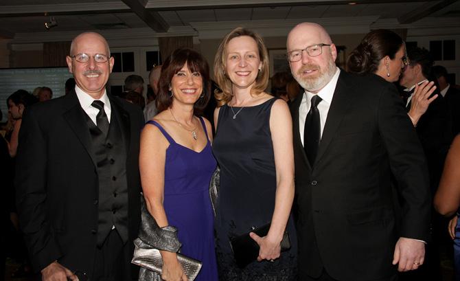 Andy Lang, Carolyn Mazzenga, Laurel and Cliff Asness