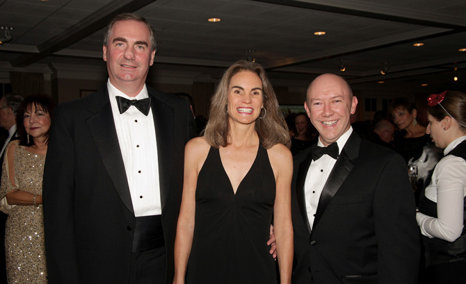 David and Anne Juge with Dr. Brian Doran