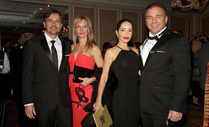Goran Miljkovic, Silvia Dicovich with Lili and Leo Piskic