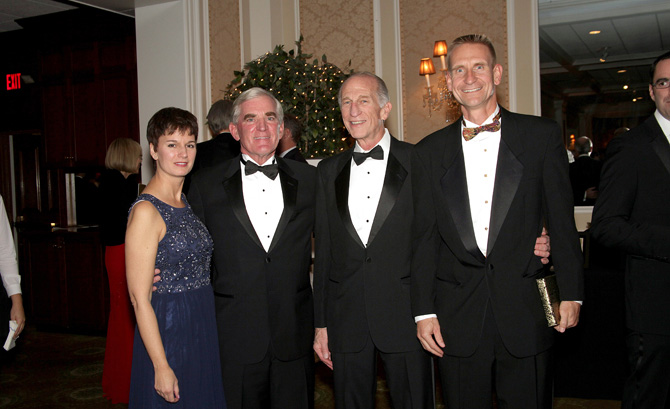 Nancy Hanson, Fred Flynn, Dr. Spike Lipschutz and Steve Hanson