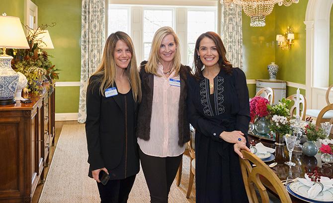 Lauren Cranston, Courtney Bieger and Lee Ann Thornton