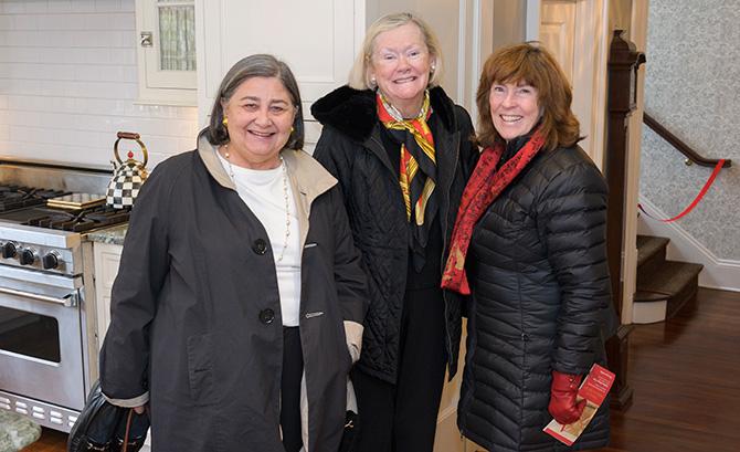 Lu Morris, Peggy Zitzmann and Karen Handal