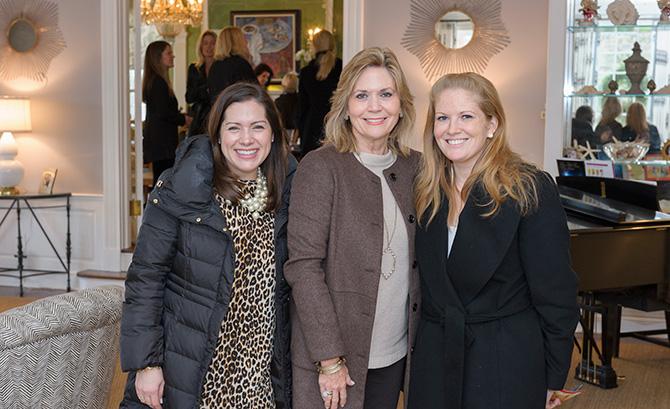 Cathy Curley, Julie Jones and Jordan Rhodes