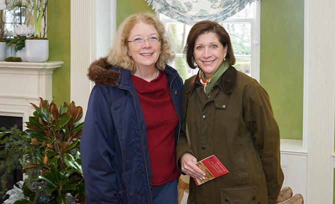 Patricia Lovejoy and Doreen Sanderson