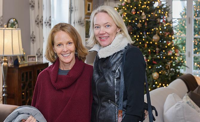 Melanie McGlade and Sue Orser