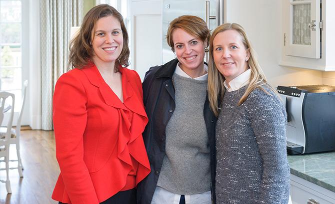 Lilly Armstrong, Rachel Liersch and Megan Clark