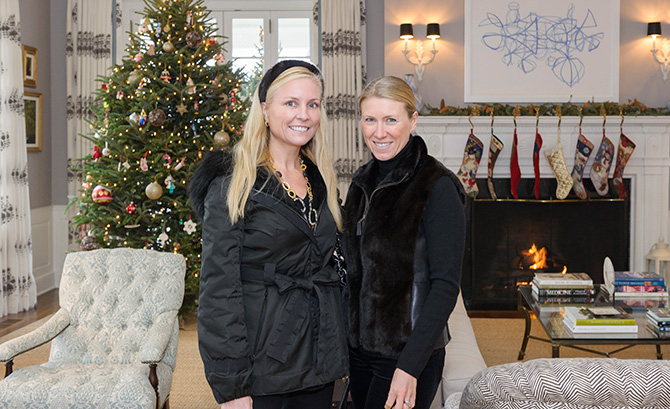 Tiffany Burnette and Linda Chase-Jenkins
