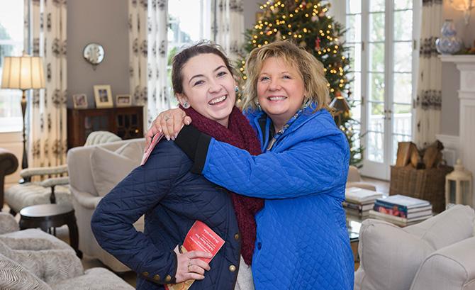 Gloria Walsh and Sherry Walsh