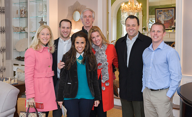 Sandy Ferguson, Nicholas Rotondi, Heloisa Char, David Newcomb, Amy Andrews, Chuck Hilton and Tom Danis