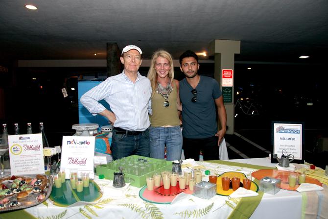 Marc Penvenne, Anne-Charlotte Penvenne, and Arturo Cedeno