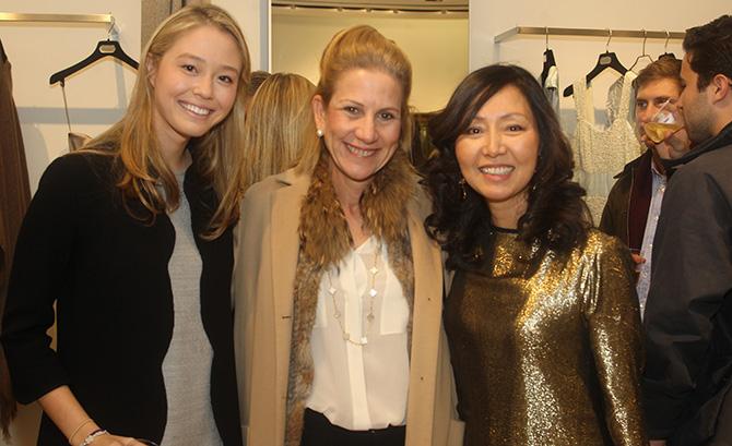 Caroline Neumann, Susan Alisberg and Sue Neumann