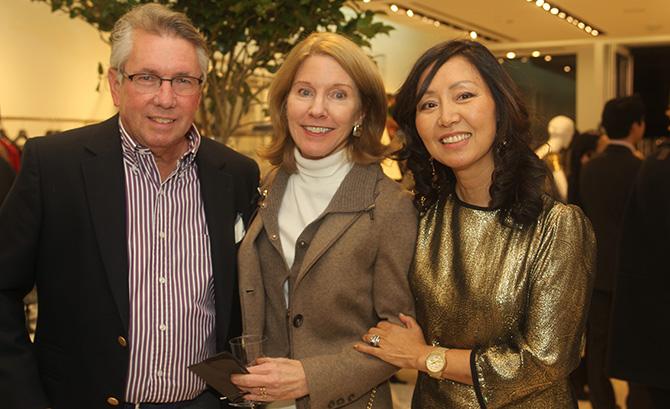 George Dessauer, Karen Keegan and Sue Neumann