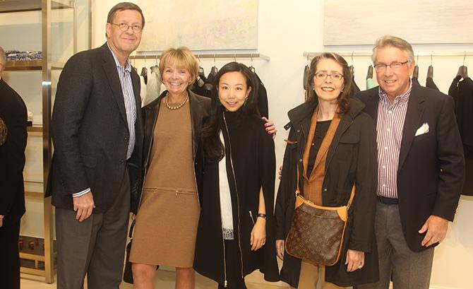 Carl Hewitt, Lorraine Dessauer, Grace Kang, Marsha Hewitt and George Dessauer