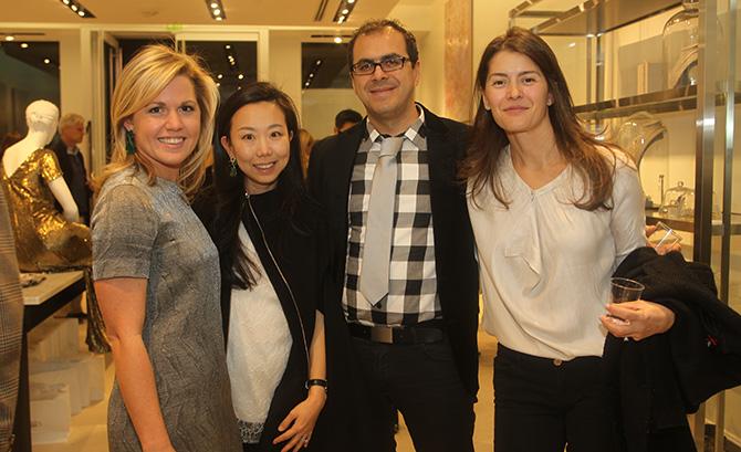 Gracie Wills, Grace Kang, Jaafar and Sarah Tazi