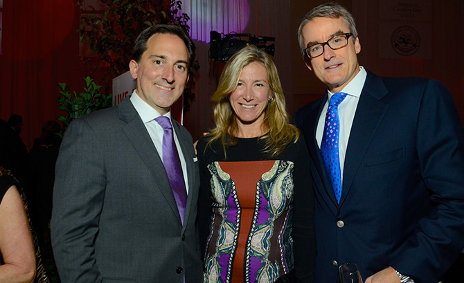 Ed Vittoria with Tracy and Philip Chadwell